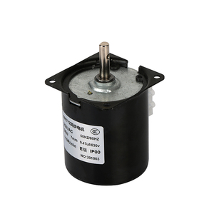 Image 4 - 220V synchroniczny AC motoreduktor 68KTYZ 68 KTYZ 28W synchroniczny z magnesami trwałymi motoreduktor 220V 2.5 5 10 15 20 30 40 50 60 obr/min