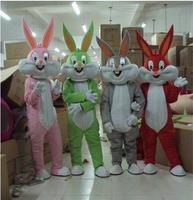 High quality Adult size Cartoon bugs bunny rabbit Mascot Costume mascot cosplay halloween costume christmas Crazy Sale