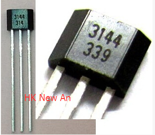 Free Shipping 100PCS NEW A3144 A3144E OH3144E 3144 Hall Effect Sensor title=
