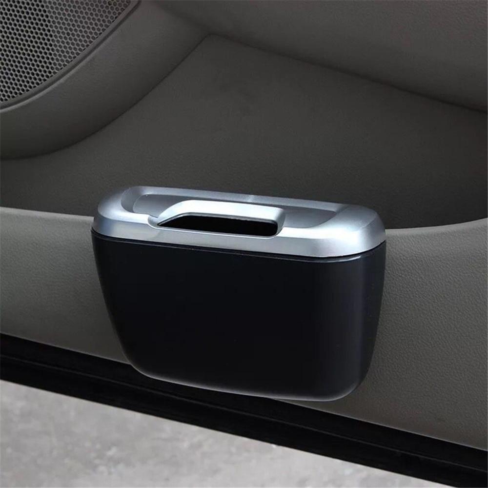 Car styling Car Trash Bin Storage Box Door Side for Fiat VW Polo Golf MK4 4 MK7 Touran T5 Bora Skoda Rapid Fabia Yeti Superb