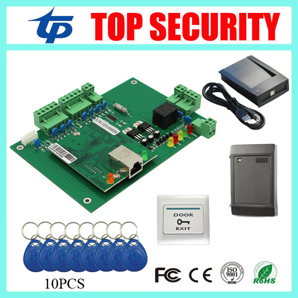 Free shipping DHL one door access control panel access control system smart card access control system L01 access control board