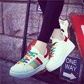 2016 Женщины открытый кожаные Дизайнеры радуга полуботинки Повседневные плоские туфли подошвы цвет суперзвезда zapatos mujer chaussure homme