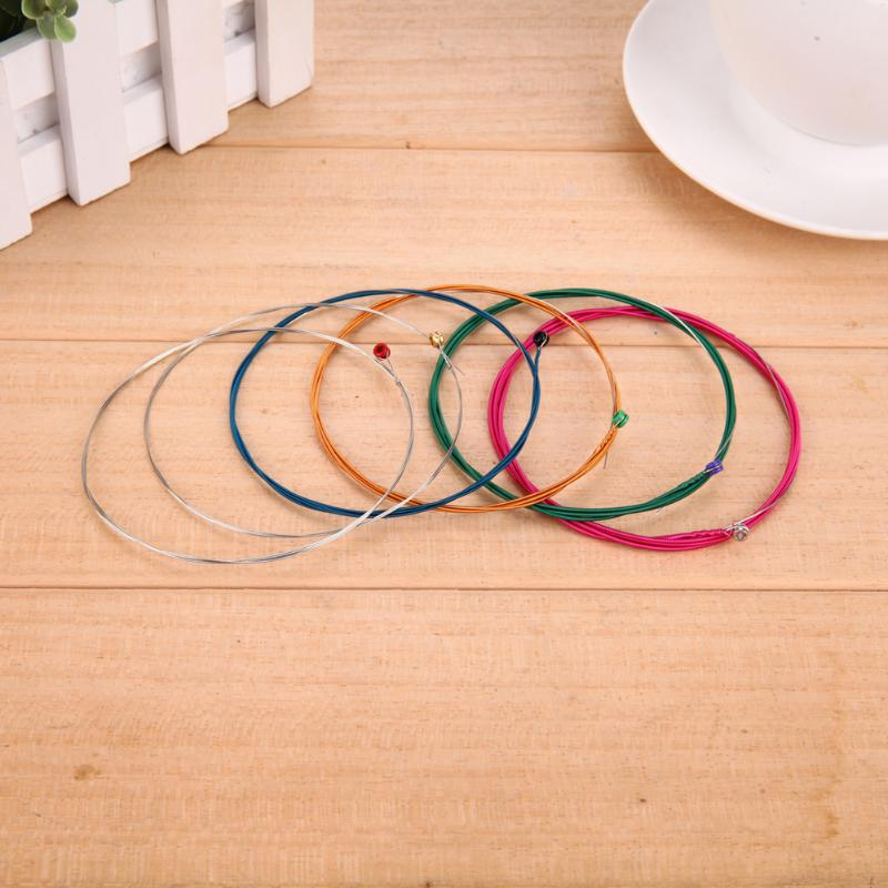6Pcs Orphee Q160C Silver Plated Folk Acoustic Guitar Strings Replacement Classic Guitar Strings Set in Guitar Parts Accessories from Sports Entertainment
