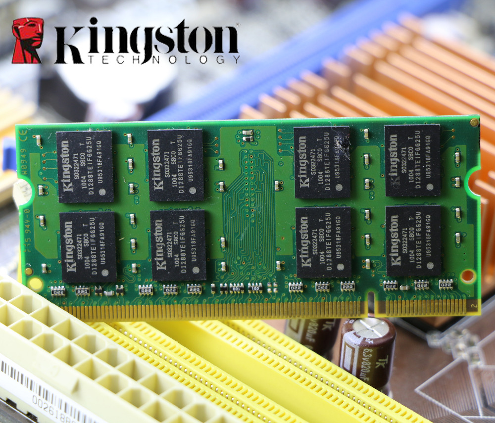 Original Kingston Ddr2 2gb 800mhz 800 Pc2 6400 Ddr 2 2g Notebook Memori Pc Memory Laptop Ram 200pin Sodimm For Intel Amd In Rams From Computer Office On