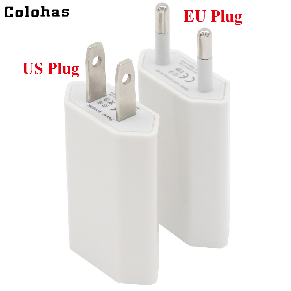Mobile Phone Accessories High Quality Colorful Hot Usa Canada Eu Pug Usb Ac Travel Wall Charging Charger Power Adapter For Apple Iphone 5 5s 4 4s 3gs 4g Cellphones & Telecommunications