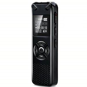 Image 1 - V91 Vandlion Professionelle Stimme Aktiviert Digital Audio Voice Recorder 16GB 32GB Aufnahme Diktiergerät WAV MP3 Player