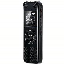 V91 Vandlion Профессиональный цифровой диктофон с голосовой активацией, 16 ГБ 32 ГБ, запись, диктофон, WAV mp3 плеер