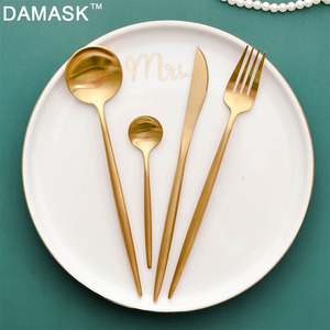 DAMASK 4PCS Set Teaspoo Kitche