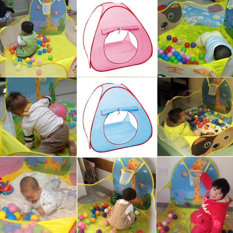 Foldable Children Kids Play Tents Outdoor Baby Ocean Ball Toy Tent Girl Outdoor House Kids Tent