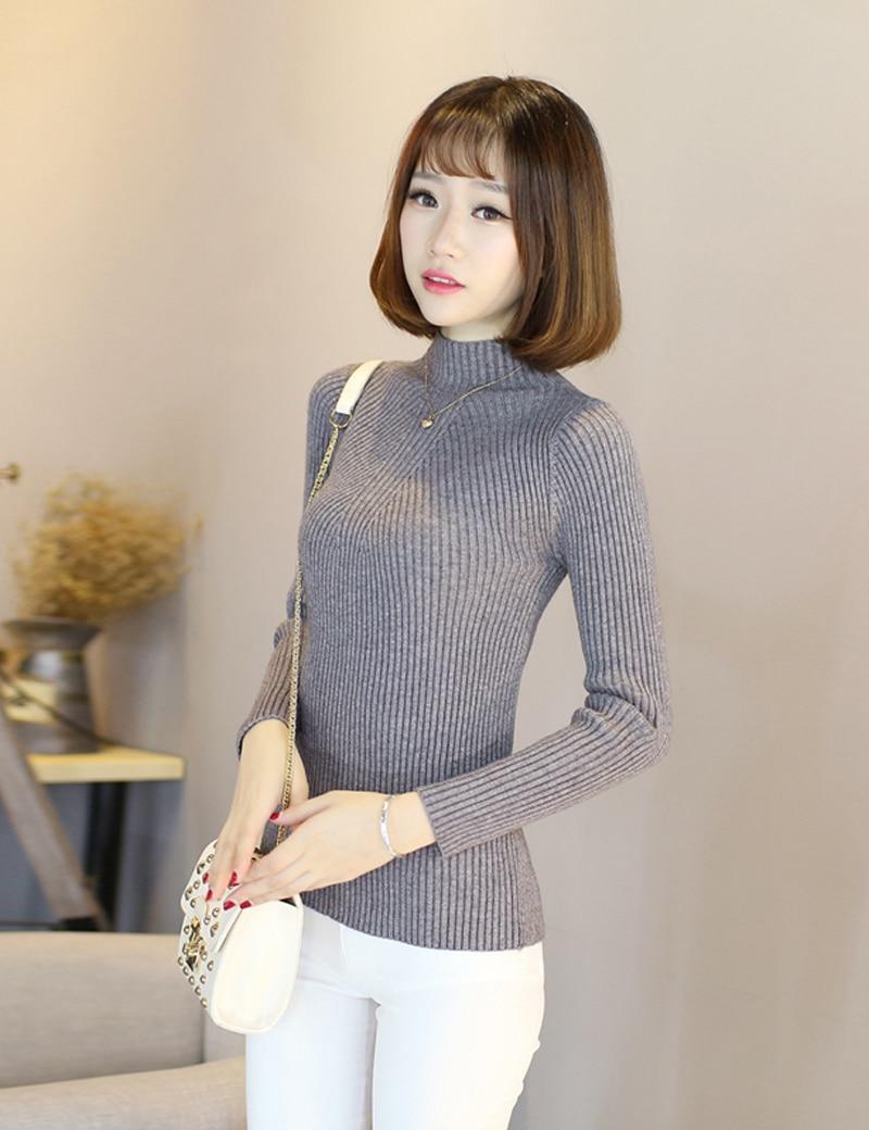 Sexy Women Turtleneck Sweaters