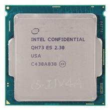 QH73 A0 Инженер образца versio процессор I7 2.3 ГГц turbo boost 2.9 ГГЦ 1151 quad core 8 потоков 95 Вт