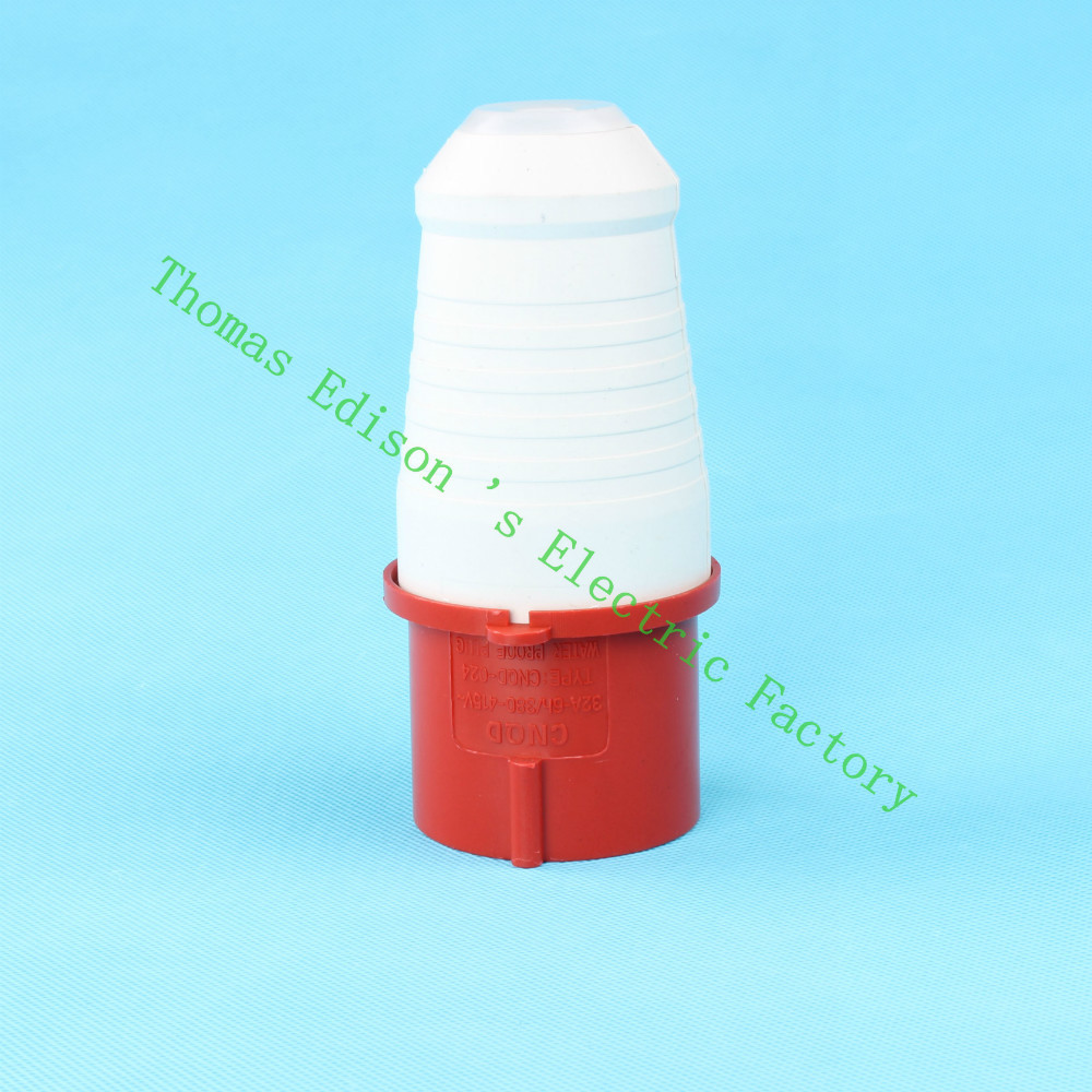 Industrial Plug Socket Coupler 024 Cnqd Red 32a 220v415v 3p E Cee Connector 16a 4p Ip44 China Mainland Electrical 4pin 60pcs Carton In Connectors From Lights Lighting On Alibaba Group