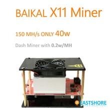 [AUSVERKAUFT] X11 Miner 150MH Baikal ASIC X11 Dash Miner 150MH mit nur 335 Watt