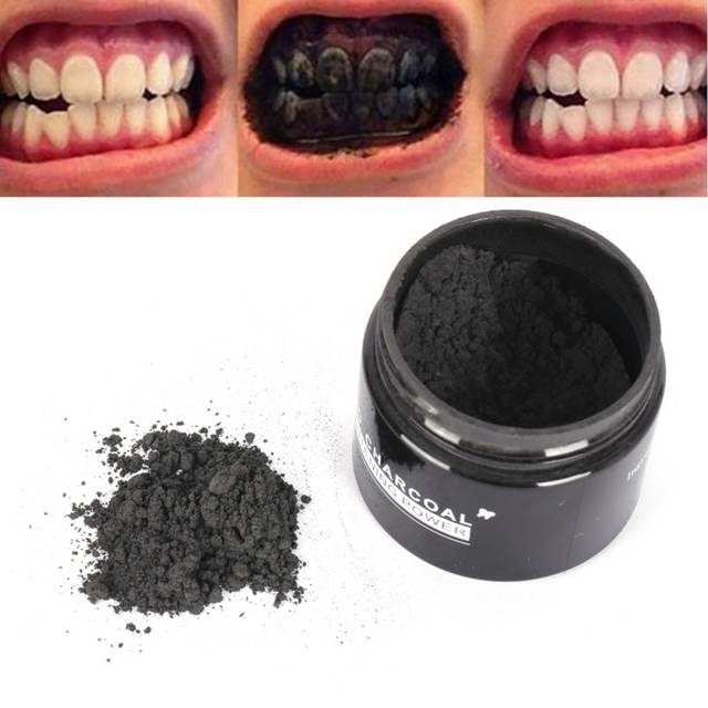 20g De Carbono Ativado Clareamento Dos Dentes Creme Dental Organica