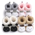 New Arrival Baby Boots Winter Toddler Baby Shoes Plush Thicker Infant Snow Boots Outdoor Street Keep Warm Comfort ROM27