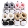 Nova Chegada Do Bebê Botas de Inverno Da Criança Do Bebê Sapatos de Pelúcia Mais Grosso Infantil Botas de Neve Rua Ao Ar Livre Manter Quente Conforto ROM27