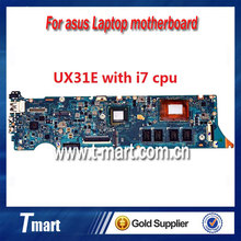 100% working laptop motherboard for asus UX31E system mainboard with i7 cpu on board fully tested