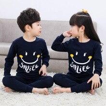 2-14Y Children Cotton Sleepwear Set Baby Girls Cartoon Clothes Pajamas