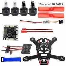 DIY Mini Indoor Racer H150 150mm Carbon Fiber Racing Quadcopter with F3 Flight Controller 800tvl coms Camera 3030 Propellers