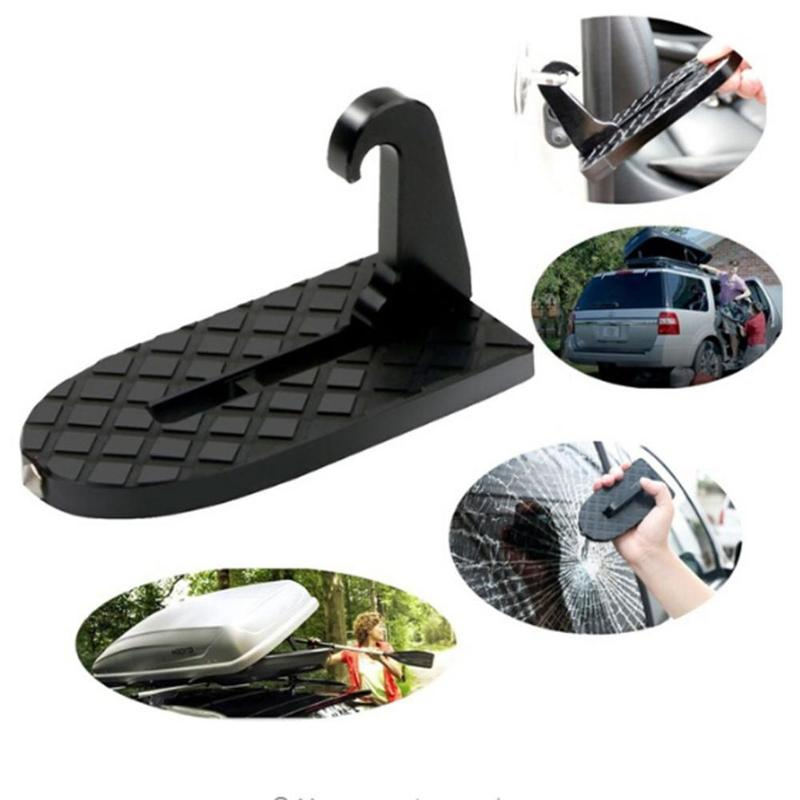 Folding Vehicle Rooftop Roof Rack Assistance Car Door Hooks Slam Latch Doorstep цена