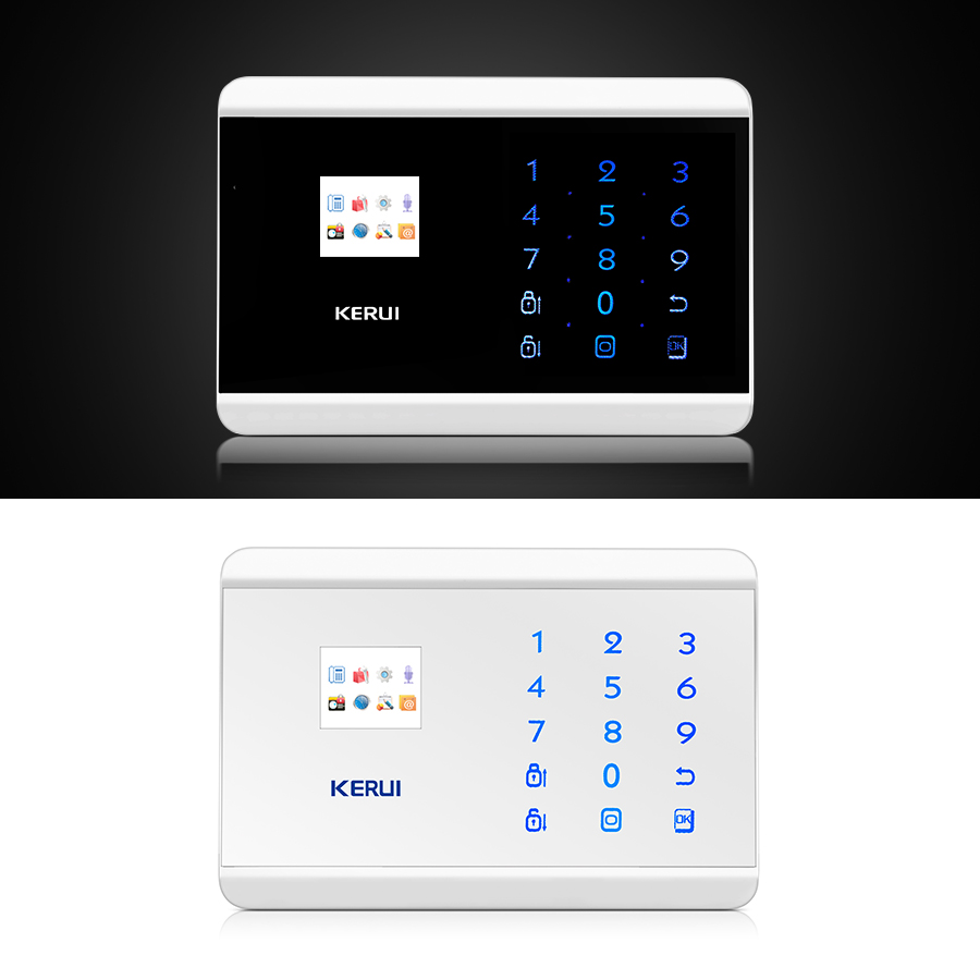 KERUI 8218G APP IOS Android GSM PSTN Dual Wireless Home Alarm Security System Englisch Russisch Spanisch Französisch Sprach Touch tastatur - 5