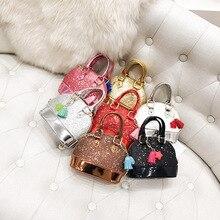 Детская сумка, новинка, на одно плечо, посылка, милая, с блестками, мини-оболочка, обёрточная бумага, приливный Наклонный аксессуар с крестом, сумка