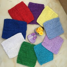 6inch New Tulle Spool Crochet Baby Chest Wrap DIY Tulle Roll Accessories Infant Sewing Knit Fabric Headband Girl Birthday GiftsB