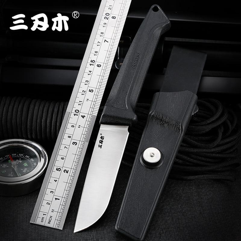 Новый нож Sanrenmu S708 с фиксированным лезвием 12C27 лезвие для охоты на открытом воздухе кемпинга выживания рыбалки тактическая утилита EDC инструмент с оболочкой|Ножи|   | АлиЭкспресс