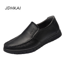 Mens Leather Shoes Genuine Summer Autumn Luxury Cow Casual Leather Shoes Men Black Soft Sneakers Men Driving Shoes Dropshipping 2017 luxury genuine cow leather men shoes comfort soft casual shoes men flats quality breathable summer leather shoes men