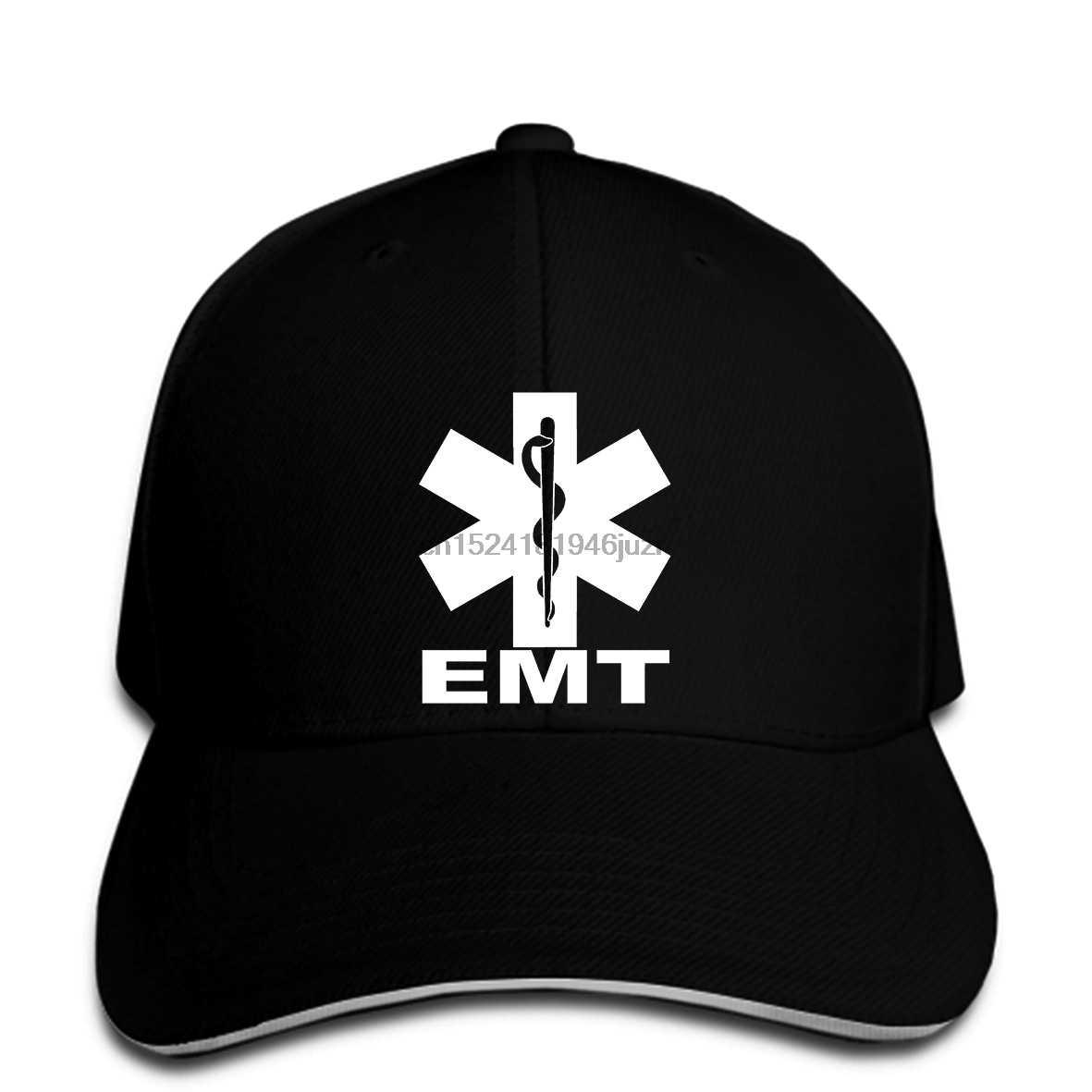 6d9e8a31c7c hip hop Baseball caps EMT EMS Paramedic Emergency Medical Services Front  Back Men snapback