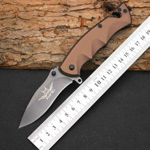 Hot FOX Survival Knife Pocket Folding Knifes 5CR13 Steel  Blade Hunting Tactical Knives Camping Outdoor EDC Tools Y10