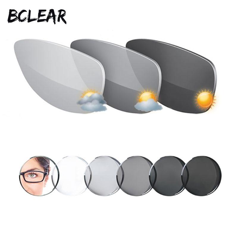 BCLEAR 1.67 Photochromes grau-braunes Freiform-Gleitsichtglas mit - Bekleidungszubehör - Foto 4