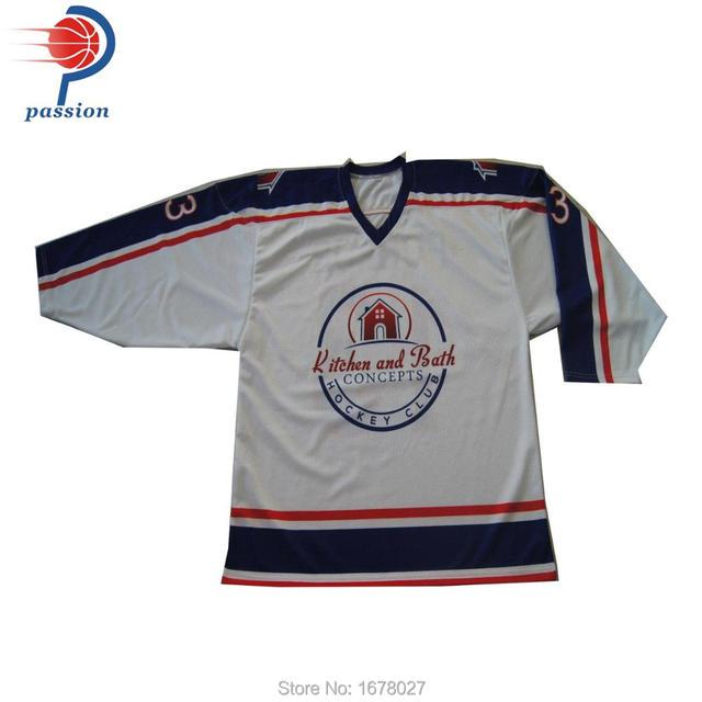 7ffbc75394a 22pcs Hockey Jerseys With Custom Team Logos numbers names customized ...