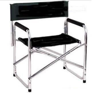 2017 Newest  Double Layer Cotton padded Aluminum Alloy Director Chair Fishing Portable Folding Stool Outdoor Leisure|Fishing Chairs|   - title=