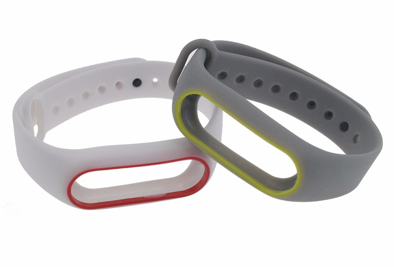 IN STOCK Xiaomi Mi Band 2 Colorful Silicone Strap For Xiaomi miband 2 Bracelet Replace Smart Wrist Strap Mi Band Accessories 24