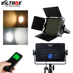 Viltrox VL-S50T 50W Metal LCD Photo LED Video Studio Light Bi-Color & Dimmable +2.4G Wireless Remote for Photography Interview