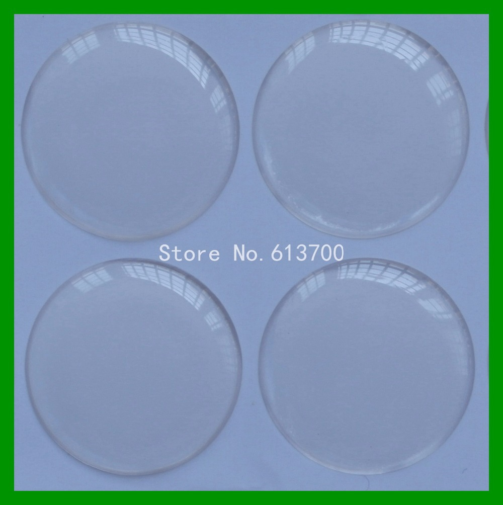Free Shipping 1000pcs 1 inch 25 4mm 3D round Resin Clear Epoxy Stickers Dome For Bottle