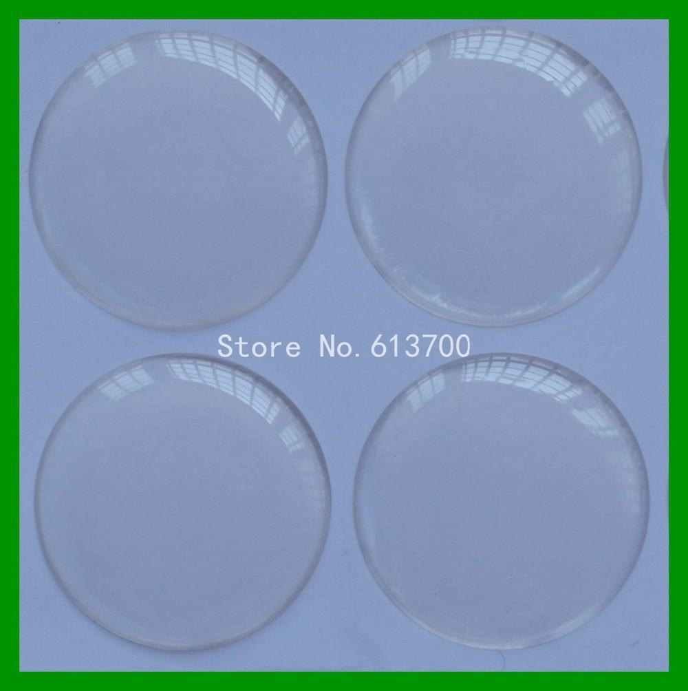 Darmowa wysyłka 1000 sztuk 1 cal (25.4mm) 3D okrągły żywica jasne naklejki epoxy kopuła dla butelka Cap naklejki w Materiały do rękodzieła od Dom i ogród na  Grupa 1