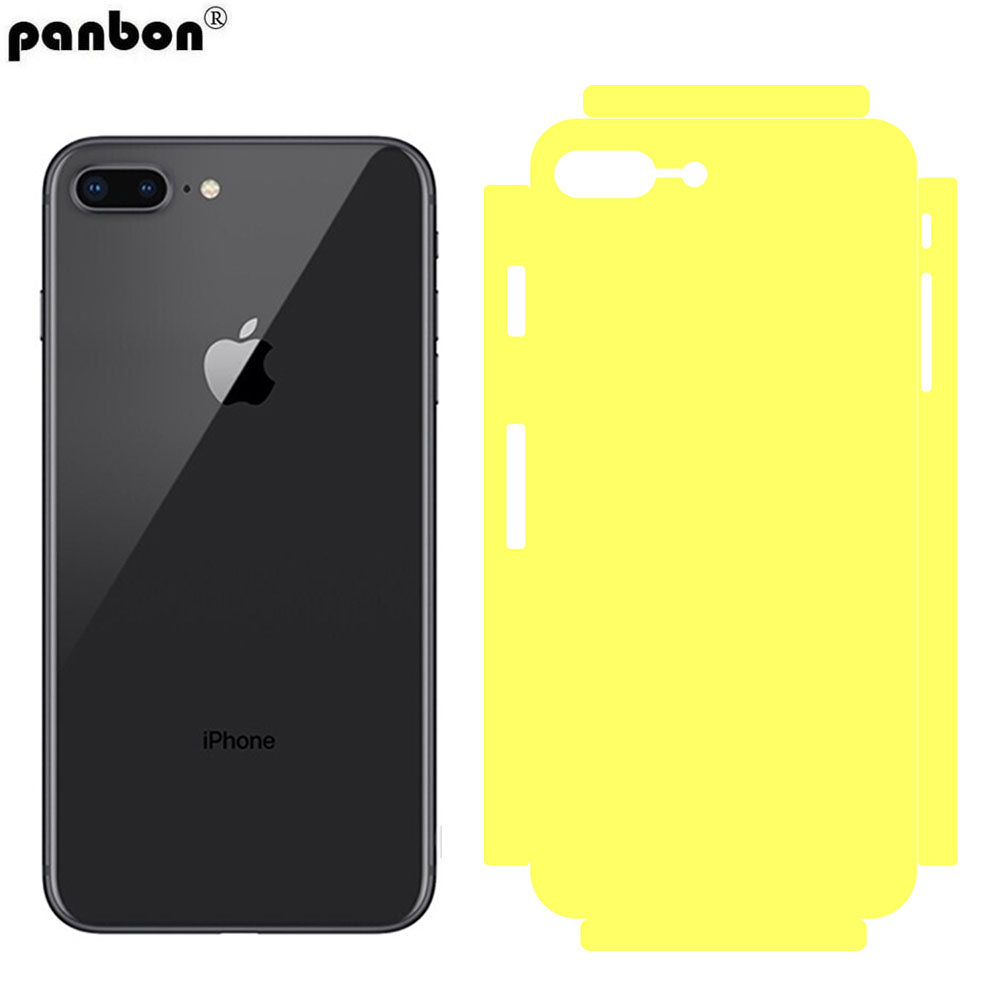 Wholesale Back Film For iPhone X 8 7 Plus HD Soft TPU Full Coverage Side Phone