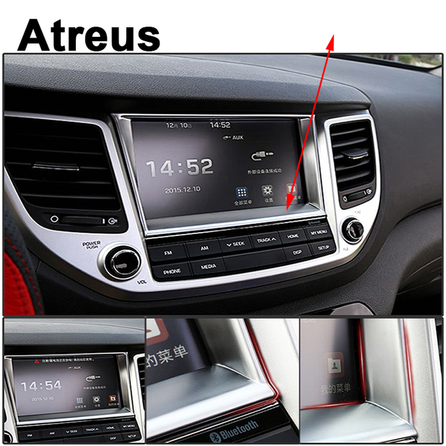Atreus Car ABS Accessories For Hyundai Tucson 2017 2016 2015 ...