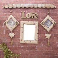 Retro Wall Hang Pictures Frames Household Decor Photo Pictures The Wedding Decor And Celebration Love Photo Frames