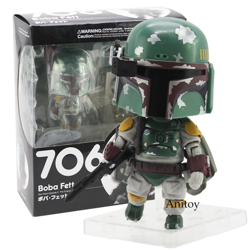 Nendoroid Star Wars Episode V The Empire Strikes Back Boba Fett 706 PVC Action Figure Collectible Model Toy when life strikes the president