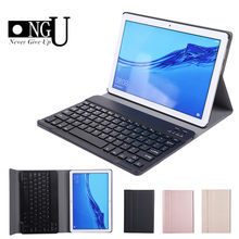 Bluetooth Keyboard Case Voor Huawei MediaPad T5 10 10.1 AGS2 W09-W19 L03 L09 Afneembare Toetsenbord Flip Leather Tablet Cover Stand(China)