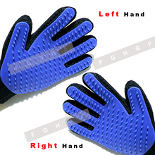 Silicone Cat Gloves Hair Comb Pet Bath Brush Gentle Efficient Massage Grooming and For Pet Washing Gloves Goods hair Pet Finger pet massage gloves left hand right hand pet bath brush massage grooming for pet washing