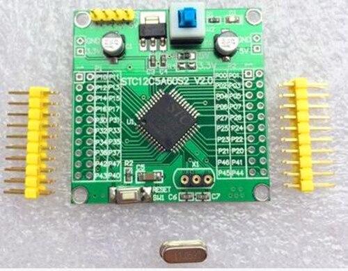 Бесплатная доставка! 51 микроконтроллер основной плате/MCU Совет по развитию/smart car/электронных компонентов