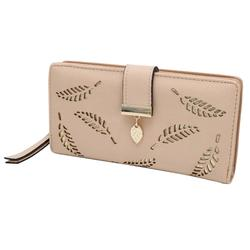 Модные женские туфли Двойные Бумажник Кожаный Клатч держатель для карт кошелек леди длинное Сумочка