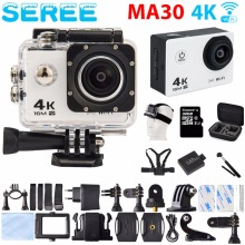 New Arrival! Seree Sport Camera Ultra HD 4K Sport Camera 30M Waterproof 2.0′ Screen 1080P Action Camera Go DV Car DVRs for SJCAM