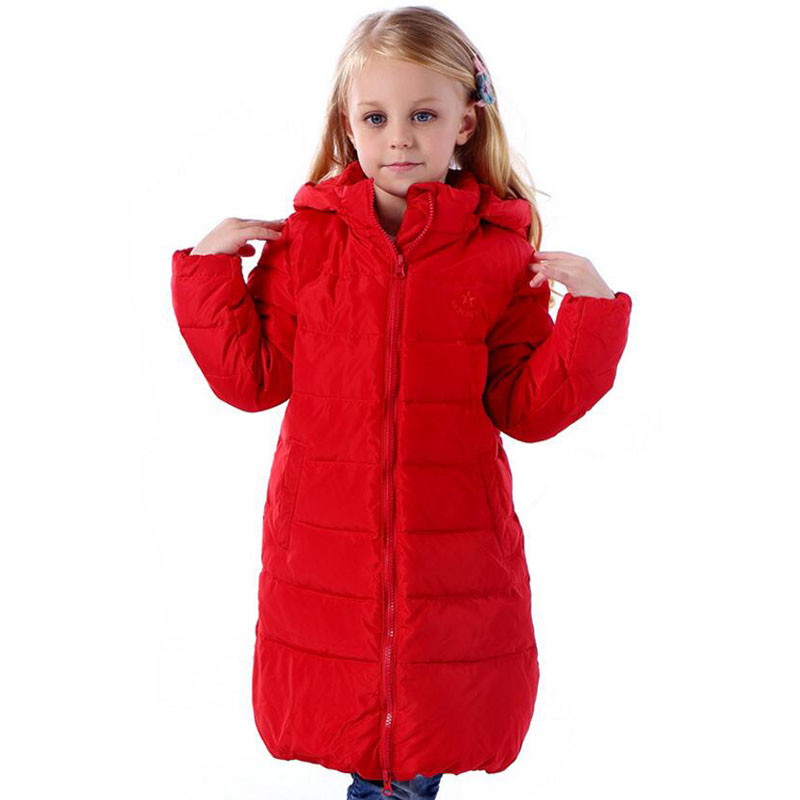 Girl's Winter Jacket Down Jackets Coats 2017 NEW Warm Kids ...