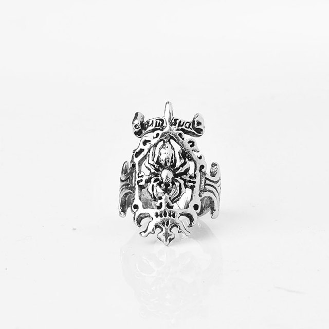 Us 1 65 30 Off Crazy Feng New Fashion Hollow Out Spiderman Signet Biker Ring Stainless Steel Jewelry Spider Web Motor Biker Ring For Men Gift In
