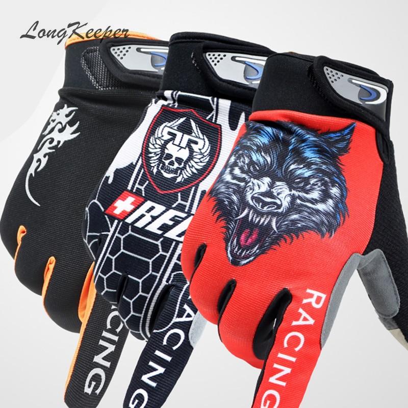 Workout Gloves Full Finger: LongKeeper Mens Full Finger Gloves Touch Screen Gloves For